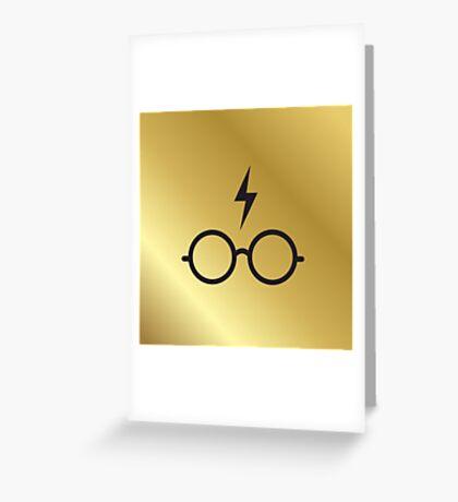 HP GOLD Greeting Card