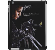 I am different iPad Case/Skin