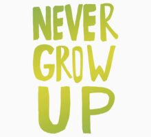 Never Grow Up III Kids Clothes