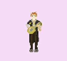 Kvothe from Kingkiller Chronicle by pixelwits