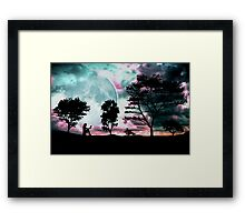Midnight Stories Framed Print