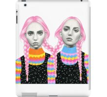 Plaited Twins iPad Case/Skin