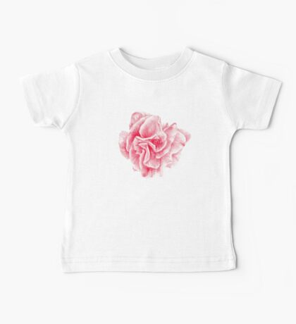 talisman . pink flower for love Baby Tee