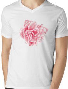 talisman . pink flower for love Mens V-Neck T-Shirt