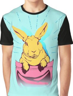 bunny rabbit in your pocket pet shirt Graphic T-Shirt