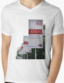 generali insurance banner Mens V-Neck T-Shirt
