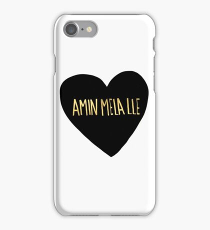 "Amin Mela Lle: ""I Love You"" in Elvish iPhone Case/Skin"