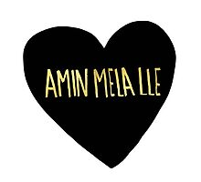 """Amin Mela Lle: """"I Love You"""" in Elvish by Leah Flores"""