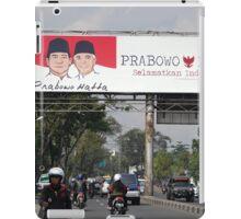 prabowo hatta rajasa billboard iPad Case/Skin