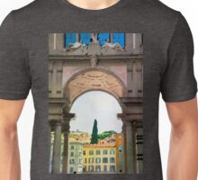 Watercolor painting of Florence, Italy Unisex T-Shirt