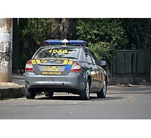 indonesian police car Photographic Print