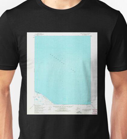USGS TOPO Map Alaska AK Barter Island A-3 354211 1955 63360 Unisex T-Shirt