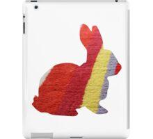 Stripy Rabbit iPad Case/Skin