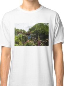 English Cottage Garden - a Blissful Space with a Riot of Flowers and a Bonus Squirrel Classic T-Shirt