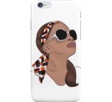 Maya Fashion Illustration iPhone Case/Skin