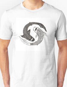 Koi Yin Yang Unisex T-Shirt