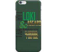 Glorious Burdens  iPhone Case/Skin