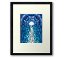 Staircase to the Moon Framed Print