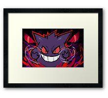 Gengar   Nightmare Framed Print