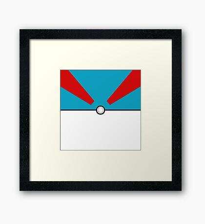 Pokemon - Megaball Framed Print