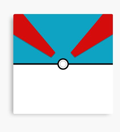 Pokemon - Megaball Canvas Print