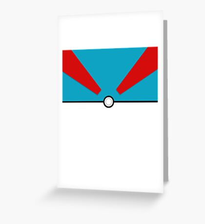 Pokemon - Megaball Greeting Card