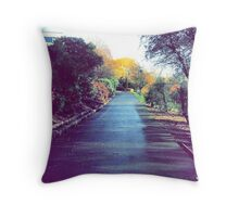 Autumn in Stirling. Throw Pillow
