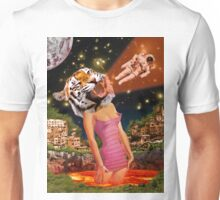 Tiger Babe Always Gets Her Man Unisex T-Shirt