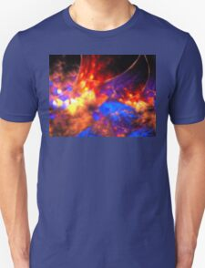Blue Wildflowers Unisex T-Shirt