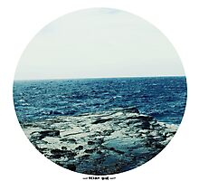 Ocean Blue Photographic Print