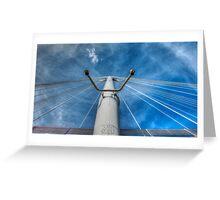 Bridge Support Greeting Card