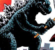 Catching Kaiju Sticker