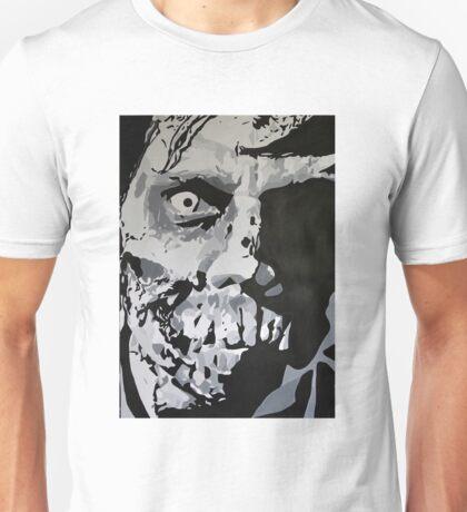 Bite Me Zombie Painting Unisex T-Shirt