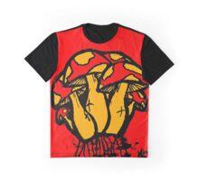 Mushrooms edit Graphic T-Shirt