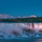 Blue hour at Niagara Falls by Erik Schlogl