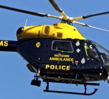 G-WPAS - Wiltshire Police/Air Ambulance MD902 Explorer  Sticker