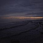 sunset over Borgarfjörður by Rebecca Tun