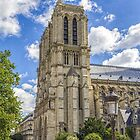 Notre Dame Cathedral, Paris, France by Elaine Teague