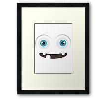 Happy to see you. Framed Print