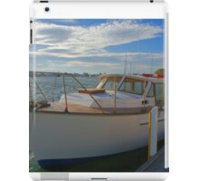 The family boat iPad Case/Skin