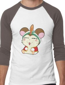 hamtaro Men's Baseball ¾ T-Shirt
