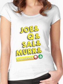 (Impractical Jokers)&Challenge  Women's Fitted Scoop T-Shirt