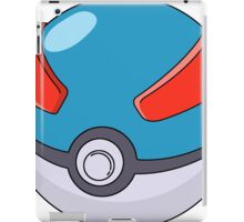 Super Poke Ball iPad Case/Skin