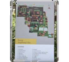 saung angklung udjo area map sign iPad Case/Skin