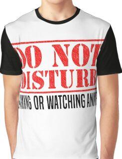 Do Not Disturb Graphic T-Shirt