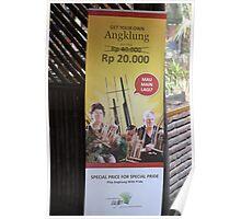 saung angklung udjo banner Poster