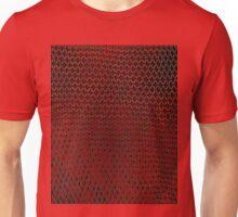 Net Art - 1 Layer - Red Hot Unisex T-Shirt