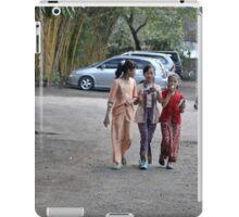three young girls iPad Case/Skin