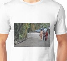 three young girls Unisex T-Shirt