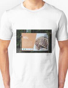 saung angklung udjo banner Unisex T-Shirt